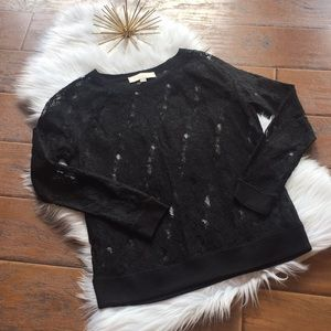 Loft Lace Top - Size Small